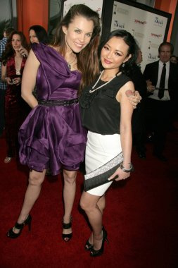 Alicia Arden and Tila Tequila