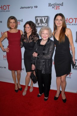 Wendy Malick, Valerie Bertinelli, Betty White, Janes Leeves