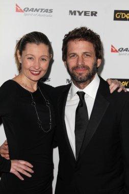Debbie Snyder and Zach Snyder