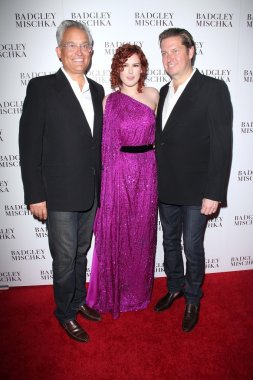 Rumer Willis with Mark Badgley and James Mischka