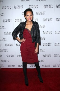 Keisha Whitaker at the opening of the Badgley Mischka Flagship on Rodeo Drive, Beverly Hills, CA. 03-02-11