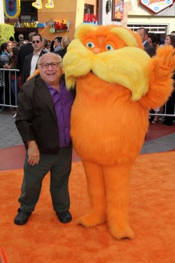 Danny DeVito and Lorax