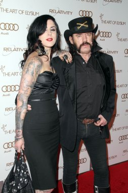 Kat Von D, Lemmy Kilmister at The Art Of Elysium 5th Annual Heaven Gala, Union Station, Los Angeles, CA 01-14-12