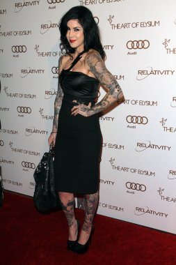 Kat Von D at The Art Of Elysium 5th Annual Heaven Gala, Union Station, Los Angeles, CA 01-14-12