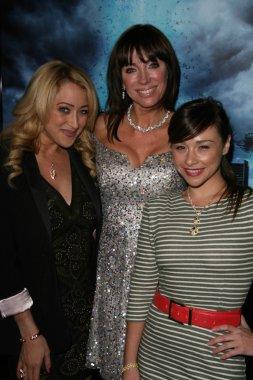 Jennifer Blanc, Tanya Newbould and Danielle Harris
