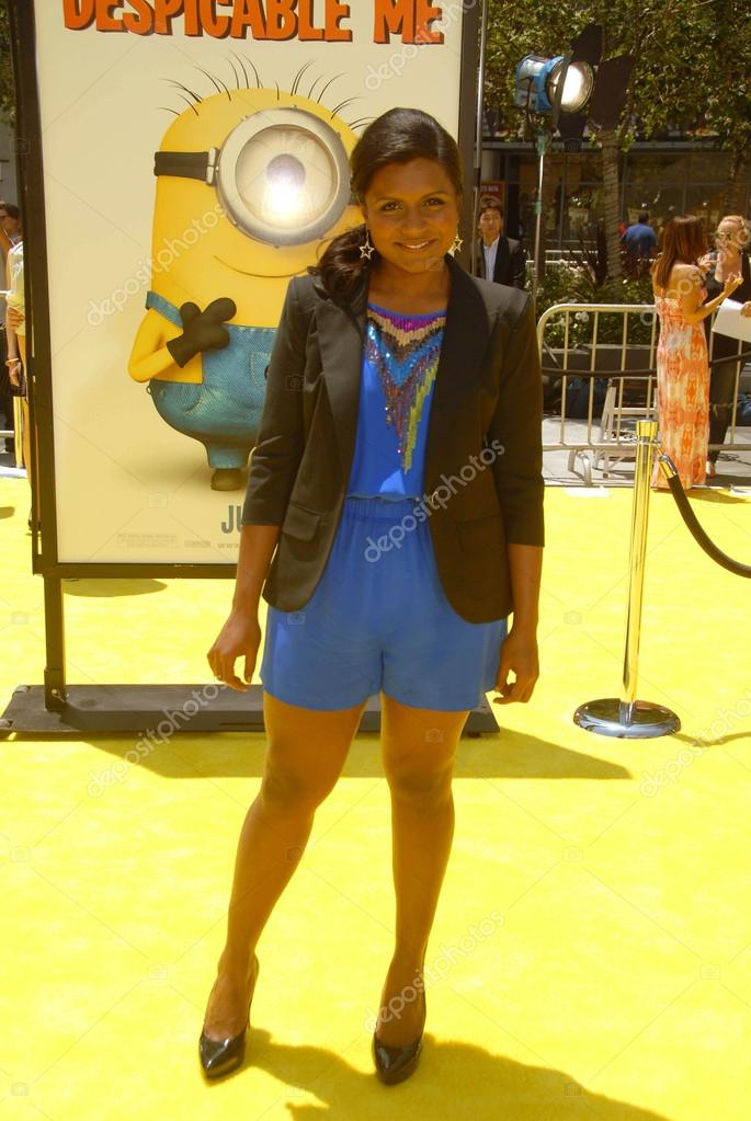 Mindy Kaling At The Despicable Me Los Angeles Premiere L A Live Los Angeles Ca 06 27 10 Stock Editorial Photo C S Bukley 14652313
