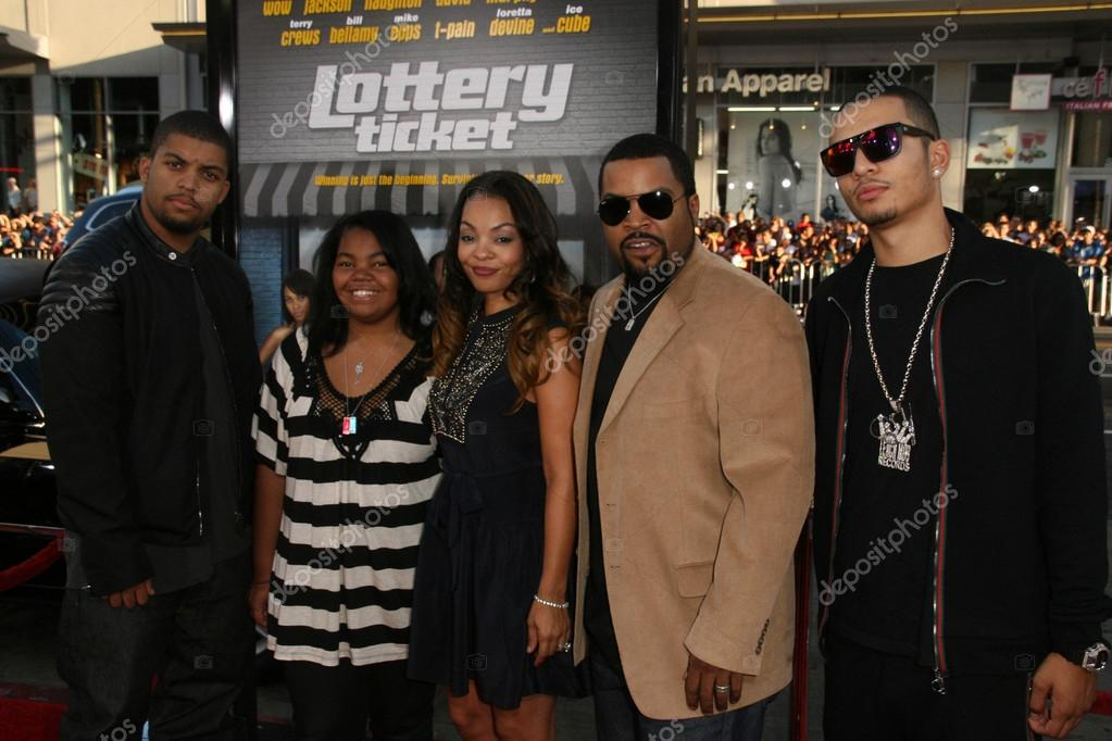 Ice Cube Family 2012 Ice Cube and family �...