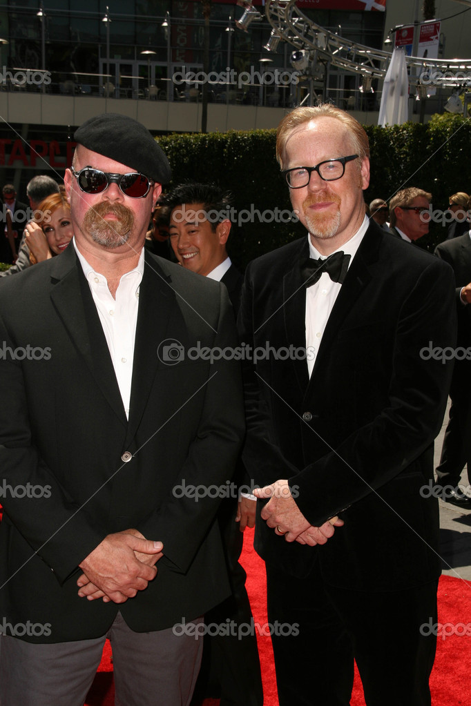 Jamie Hyneman and Adam Savage at the 2010 Primetime Creative
