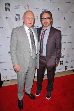Anthony Hopkins, Robert Downey Jr.