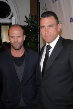 Jason Statham  and Vinnie Jones