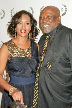 Vivica A. Fox and Louis Gossett Jr. at the Opening Night of Bel Air Film Festival, UCLA James Bridges Theatre, Los Angeles, CA. 11-13-09