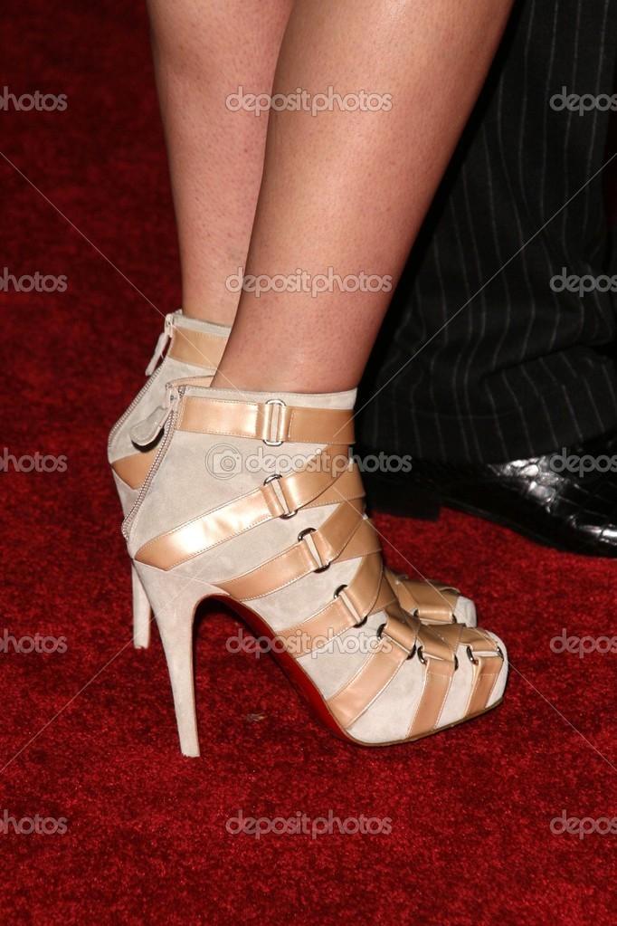 Gwyneth S Foto Editorial © Paltrow bukley De — Zapatos Stock GMqSUVzp