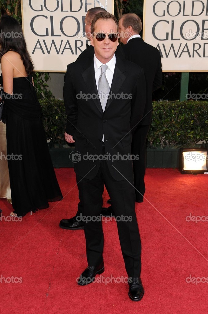 Kiefer Sutherland at the 66th Annual Golden Globe Awards. Beverly ...