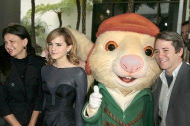 Tracey Ullman with Emma Watson and Dustin Hoffman