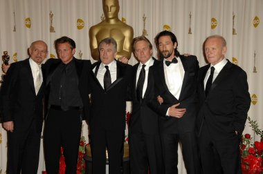 Ben Kingsley, Robert De Niro, Sean Penn, Michael Douglas, Adrien Brody, Anthony Hopkins