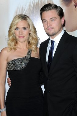 Kate Winslet and Leonardo DiCaprio at the World Premiere of Revolutionary Road. Mann Village Theater, Westwood, CA. 12-15-08