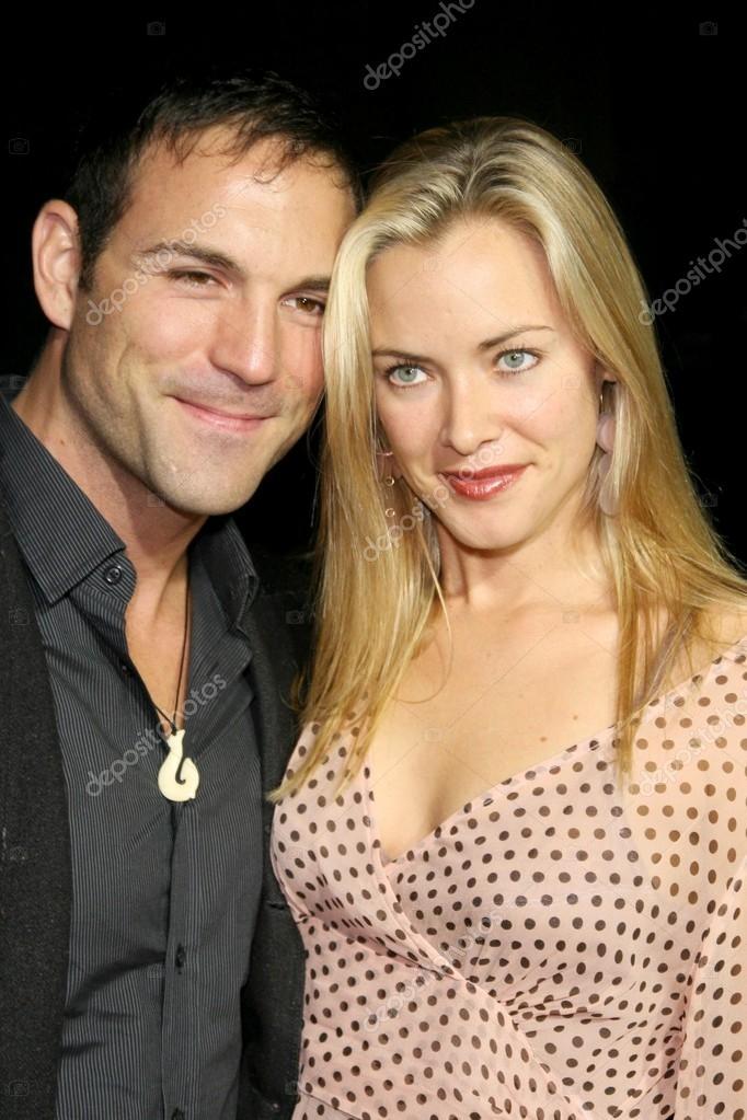Kristanna Loken and Noah Danby...