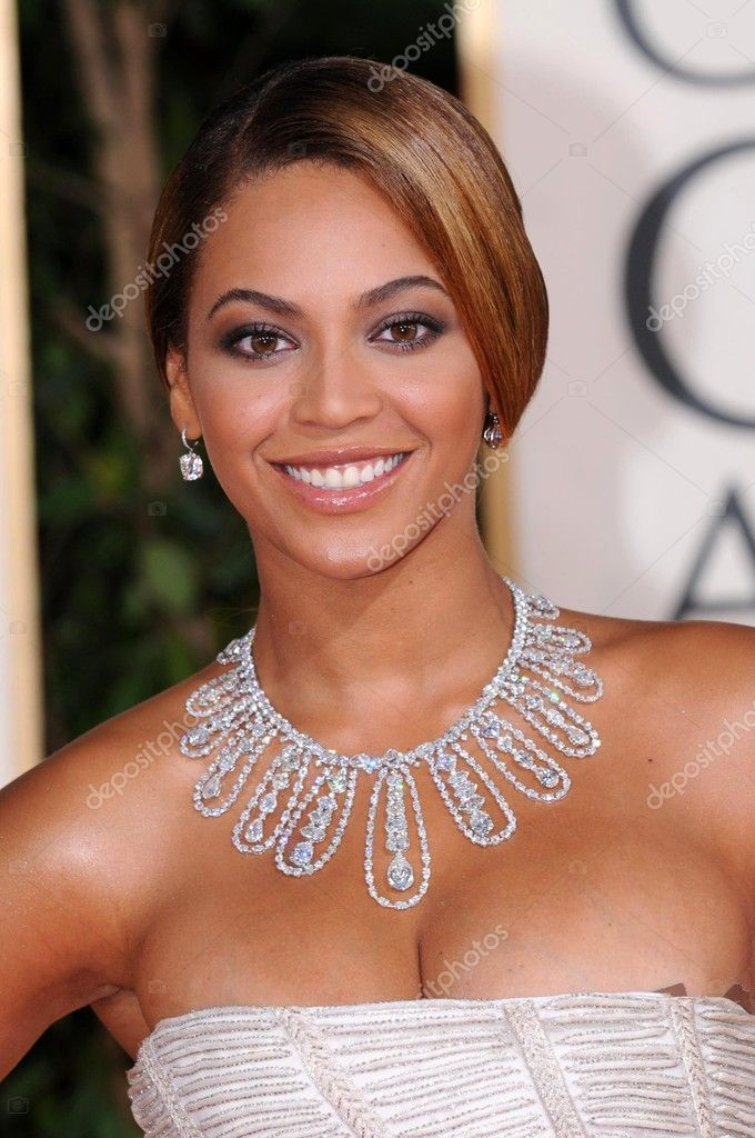 Beyonce Knowles at the 66th Annual Golden Globe Awards. Beverly Hilton Hotel, Beverly Hills, CA. 01-11-09 stock vector