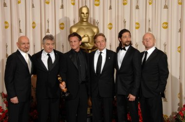 Ben Kingsley, Robert De Niro, Sean Penn, Michael Douglas, Adrien Brody, Anthony Hopkins