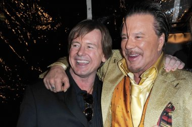 Roddy Piper and Mickey Rourke