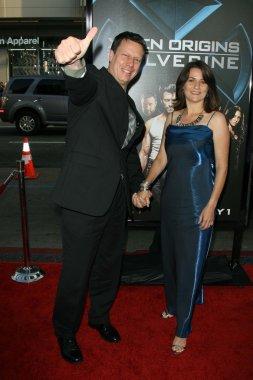 Gavin Hood and Janine Eser