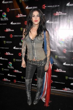 Kat Von D at the Opening Night of The Darling Stilettos at Cinespace. Cinespace, Hollywood, CA. 07-16-09