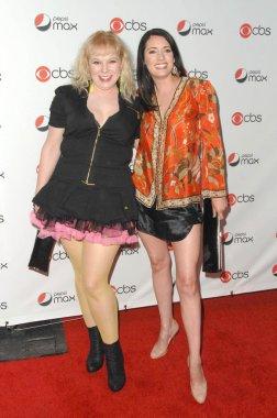 Kirsten Vangsness and Paget Brewster