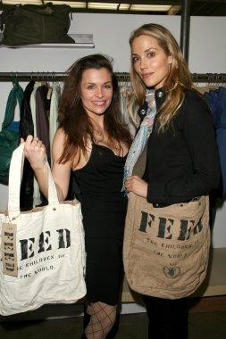 Alicia Arden and Elizabeth Berkley