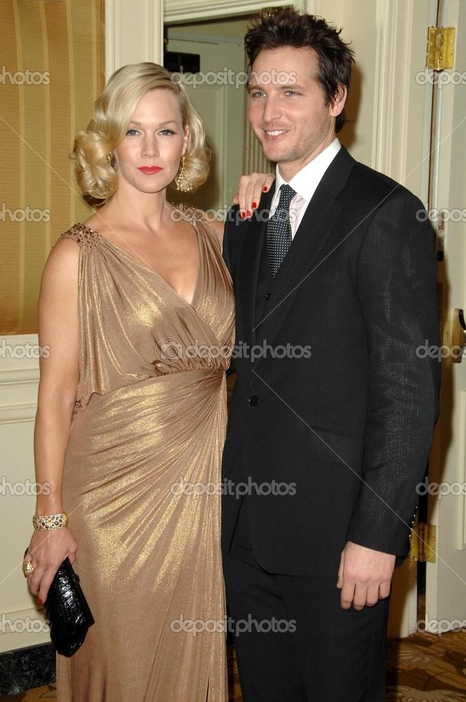 Jennie Garth Und Peter Facinelli Redaktionelles Stockfoto