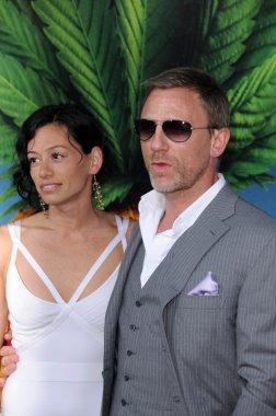 Satsuki Mitchell and Daniel Craig