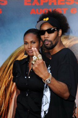 RZA at the Los Angeles Premiere of