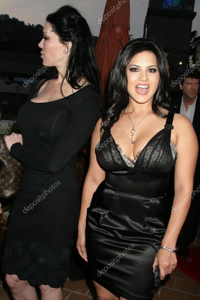 Joanie Laurer and Sunny Leone