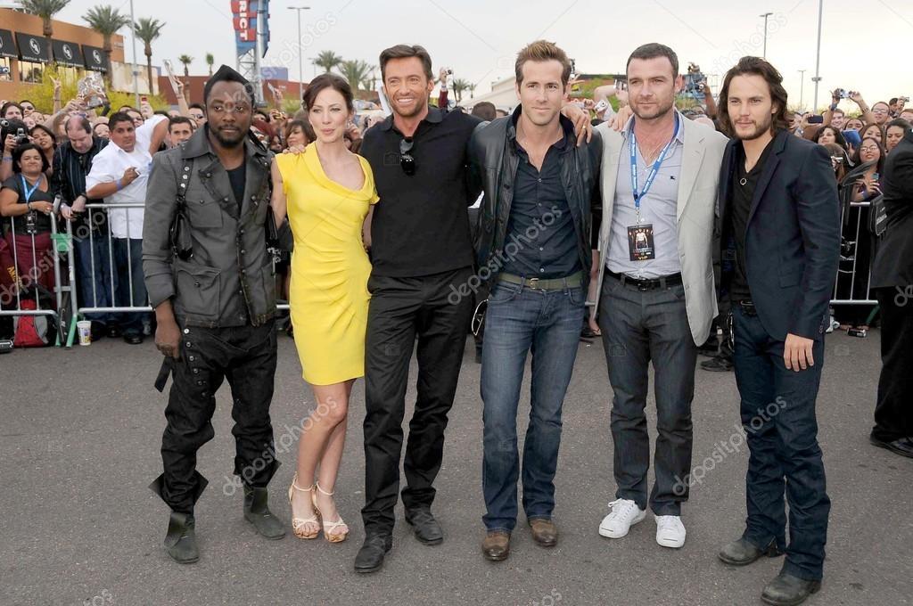 cast of x men origins wolverine stock editorial photo s bukley