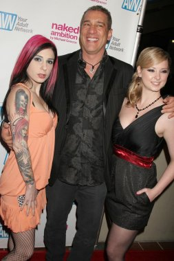 Joanna Angel with Charles Holland and Sunny Lane