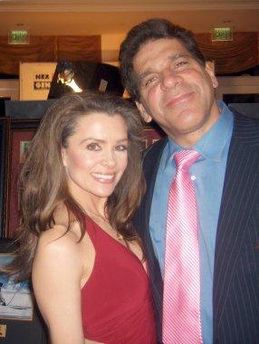 Alicia Arden and Lou Ferrigno