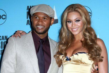 Usher and Beyonce Knowles