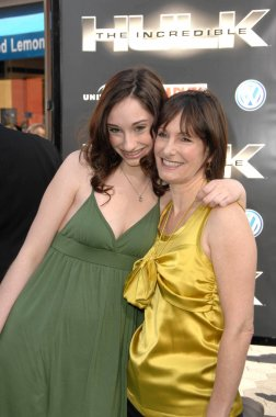 Gale Anne Hurd and daughter Lolita
