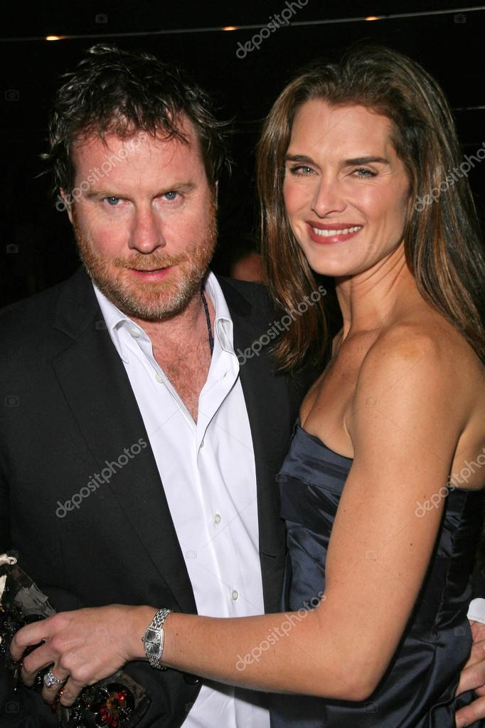 3d6a84c537fd Chris Henchy and Brooke Shields at the Prada Private Screening of Trembled  Blossoms. Prada Beverly Hills Epicenter