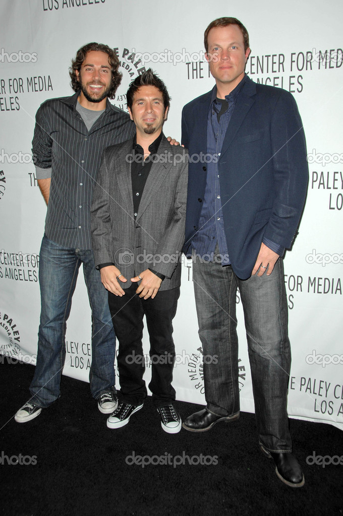 Zachary Levi With Joshua Gomez And Adam Baldwin Stock Editorial Photo C S Bukley 15939257 On may 10, 2019, the series was renewed for a fourth season, which premiered on april 2, 2020. zachary levi with joshua gomez and adam baldwin stock editorial photo c s bukley 15939257