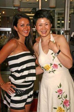 Lana Asanin and Lisa Gao