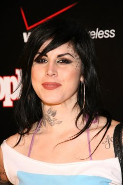 Kat Von D at the Verizon Wireless And party honoring Grammy Nominee Timbaland. Avalon Hollywood, Hollywood, CA. 02-08-08