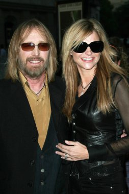 Tom Petty and wife Dana
