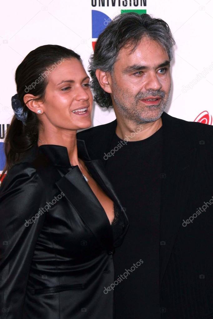 Andrea Bocelli Veronica Berti Redaktionelles Stockfoto C S Bukley 15982573