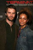 Garret Dillahunt und Michelle Hurd auf der Screening-Party für Terminator Sarah Connor chronicles. Cinerama Kuppel, Hollywood, ca. 09.01.08