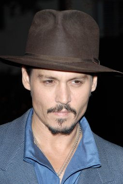 Johnny Depp at a special screening of