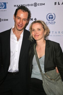 Sebastian Copeland and Julie Delpy