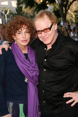 Kathy Nelson and Danny Elfman