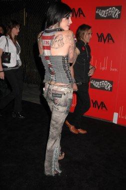 Kat Von D at the Launch Party for Wes Borland's Album