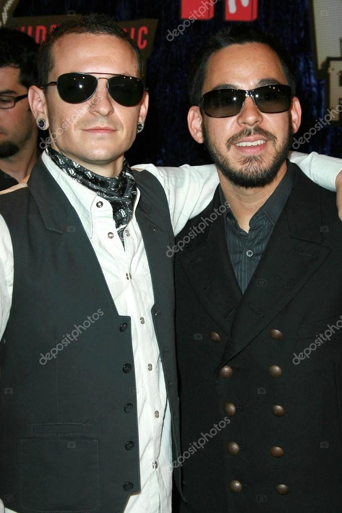 Linkin Park Arriving At The 2007 MTV Video Music Awards Palms Hotel And Casino