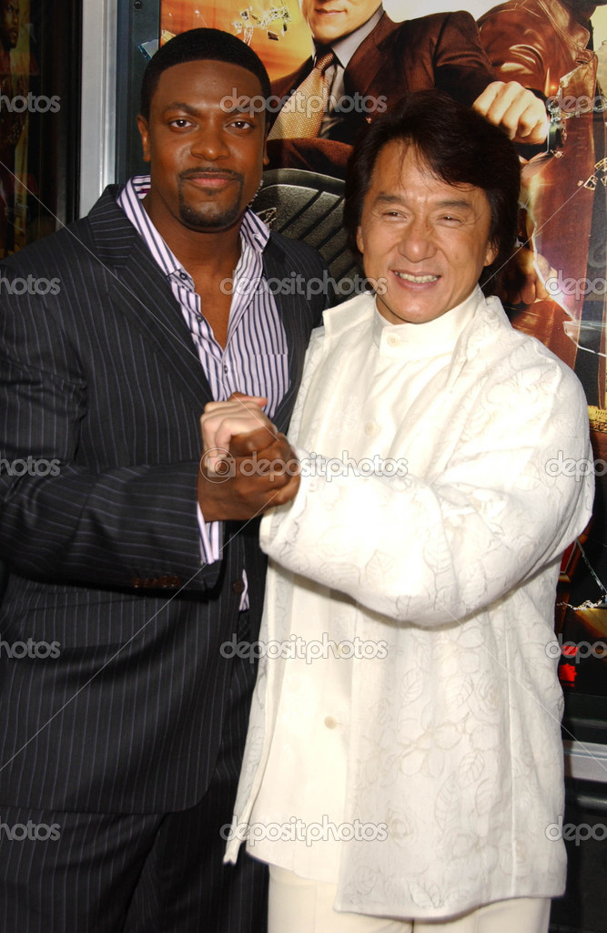 Chris Tucker And Jackie Chan Stock Editorial Photo
